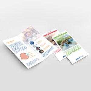 leaflet Alcon cataracte
