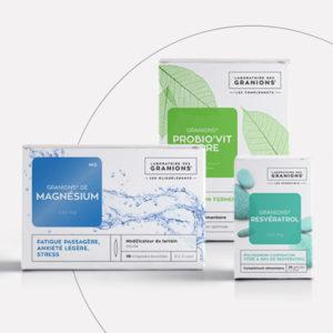refonte packagings Laboratoire des Granions