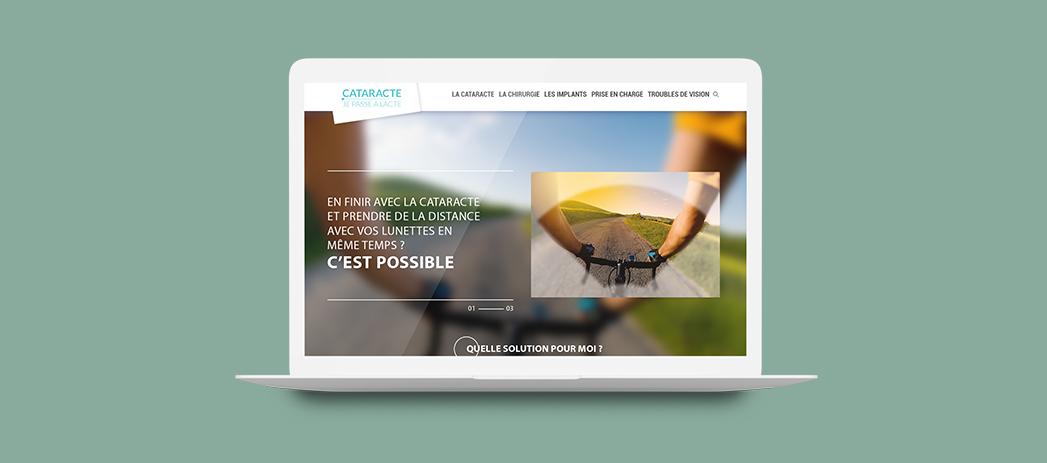 Site web cataracte